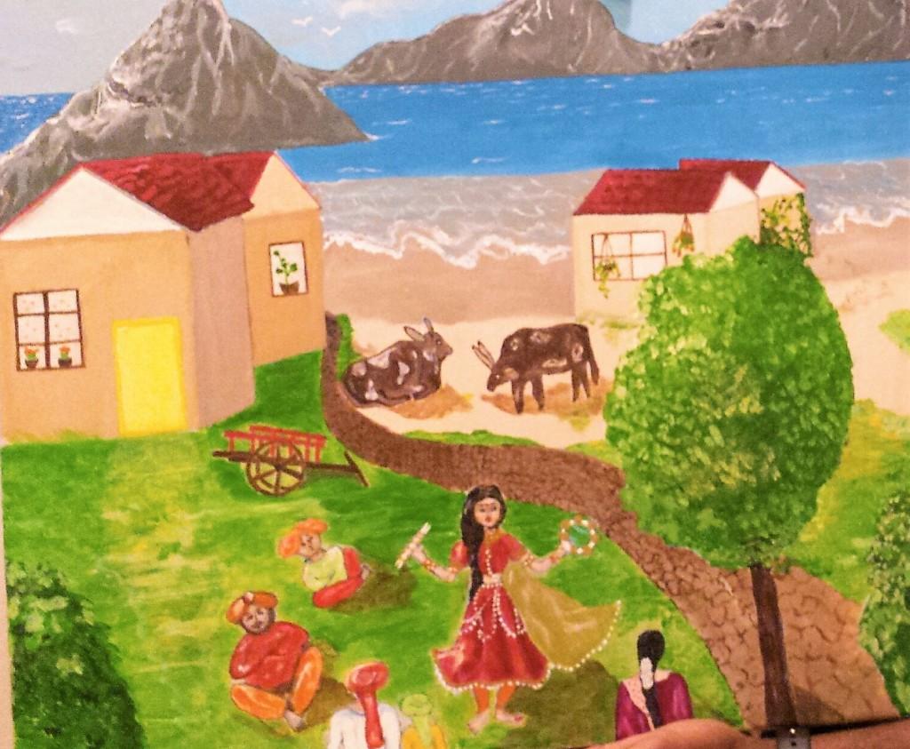 Rama's village